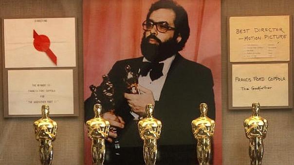 Francis Ford Coppola ganó tres Oscar en 1975 por la cinta