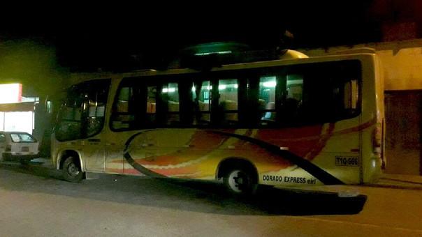 Asaltan bus en La Libertad