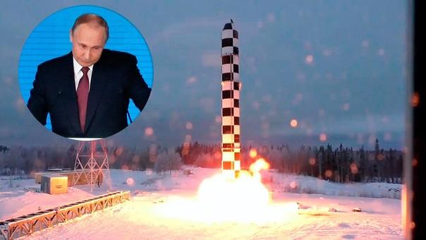 Putin anunció el nuevo arsenal de Rusia esta semana.