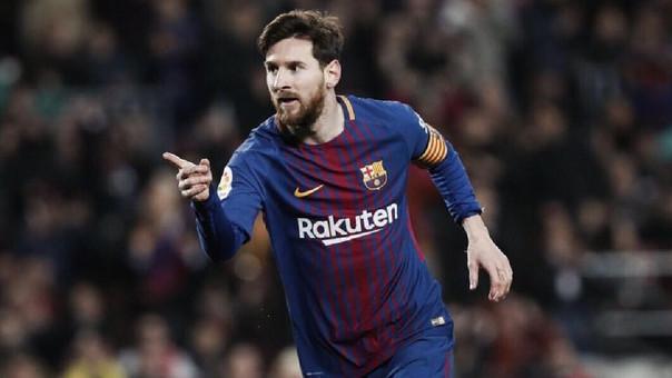 Lionel Messi tiene 372 goles en la liga española.