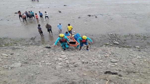 Campesino se ahogó en el río la Leche