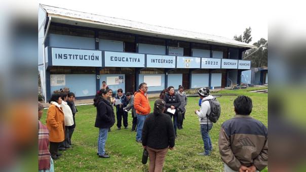Huancayo: I.E.Quichuay