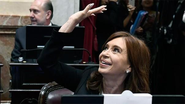 Cristina Fernández es actualmente senadora por Buenos Aires.