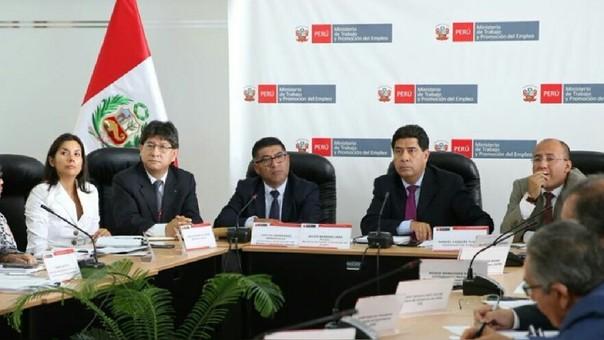 El ministro de Trabajo, Javier Barreda ha señalado que confía en que se logrará un consenso para aumentar el sueldo mínimo.
