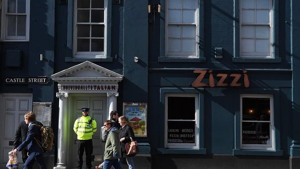 El restaurante donde el exespía fue envenenado.