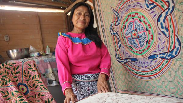 Cuando Wilma Maynas llegó a Lima, el serenazgo perseguía a su comunidad para decomisarle sus trabajos.