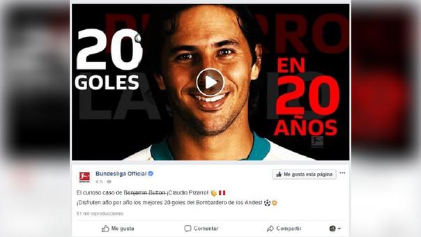 Claudio Pizarro llegó al Colonia para esta temporada.
