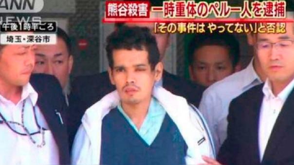 Japón condenó a muerte a peruano acusado de seis asesinatos