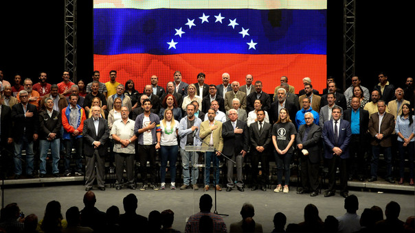 VENEZUELA-CRISIS-POLITICS-OPPOSITION-FRENTE AMPLIO