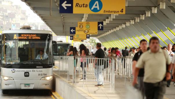 Protransporte se pronuncia sobre huelga de conductores del Metropolitano