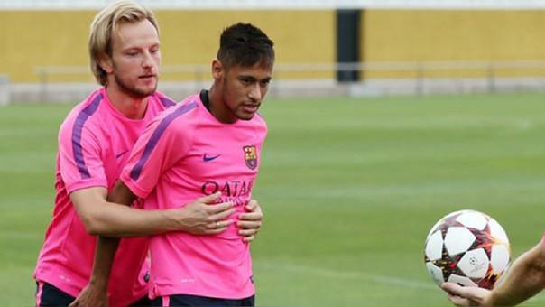 Neymar e Ivan Rakitic
