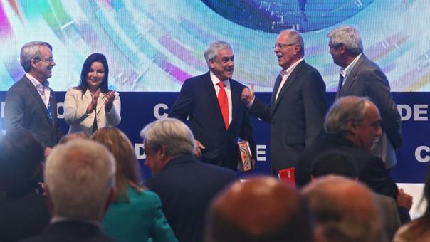 PPK y Sebastián Piñera sostendrán conversación en privado esta tarde.