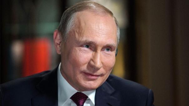 Putin dio una entrevista al canal estadounidense NBC.