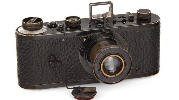 La Leica formaba parte de una serie de 25 prototipos fabricados en 1923, dos años antes de la comercialización de la célebre cámara alemana.