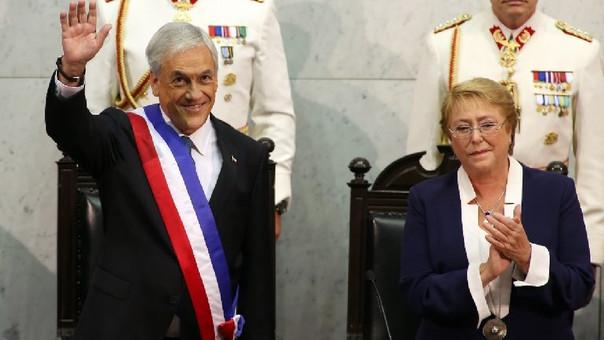 Sebastían Piñera asumió la presidencia de Chile por segunda vez.