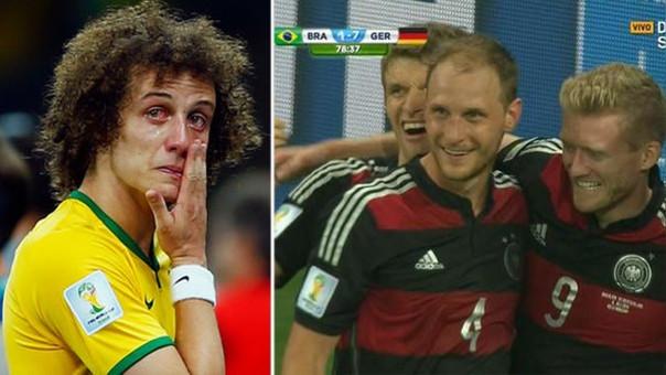 Brasil sufrió una de las peores humillaciones de su historia al caer goleado por 7-1 ante Alemania en las semifinales del Mundial que ellos habían organizado.
