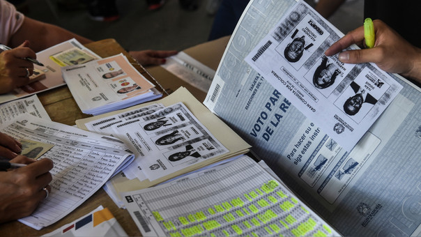 COLOMBIA-ELECTION-PARLIAMENTARY-PRIMARY-BALLOTS