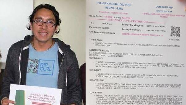 Hallan cadáver de psicólogo desaparecido en ruinas de Marcahuasi