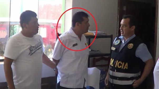 poli detenido