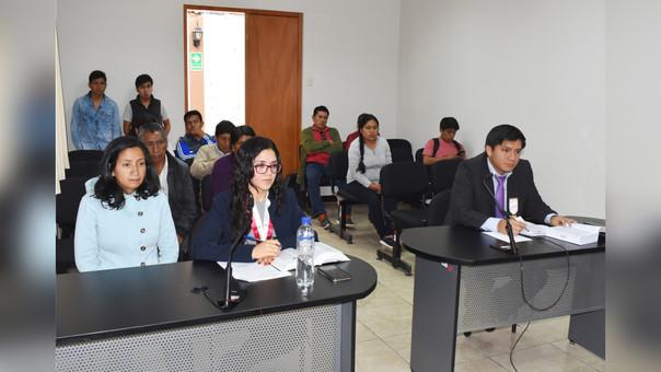 Marixa Lizbeth Abanto Rodríguez se acogió a la Terminación Anticipada, por ello se le redujo considerablemente su condena