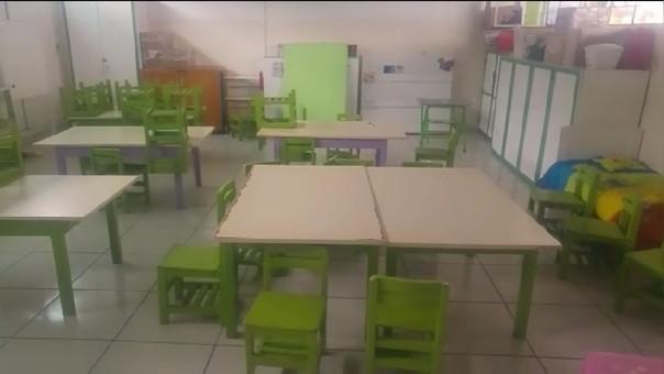 Un total de 460 escolares tuvieron que retornar a sus hogares.