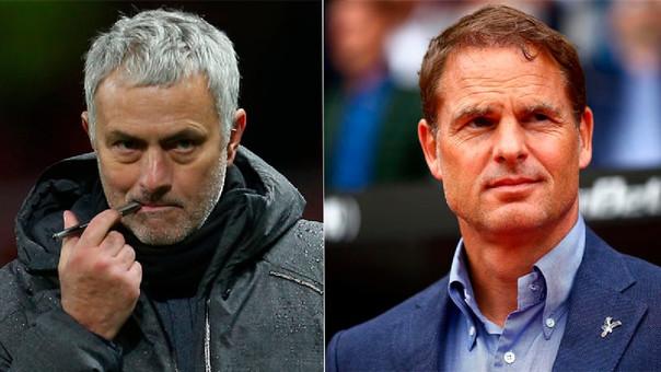 José Mourinho y Frank de Boer