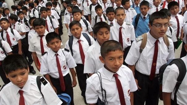Ningún estudiante estará prohibido de ingresar a su centro educativo por no usar el uniforme escolar.