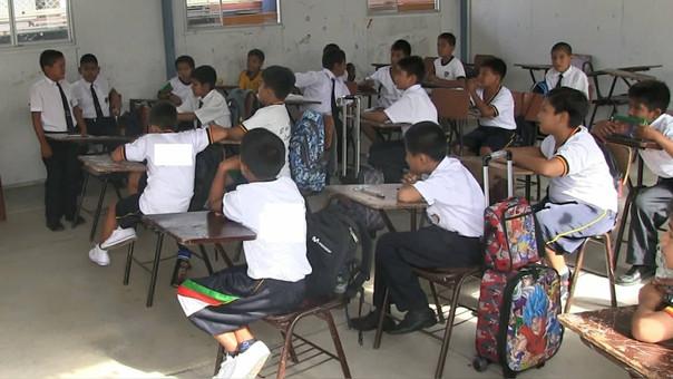 Alumnos de colegios rurales afectados