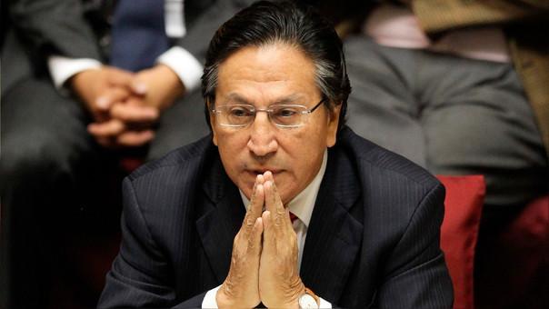 Poder Judicial resolverá hoy pedido de extradición de Alejandro Toledo