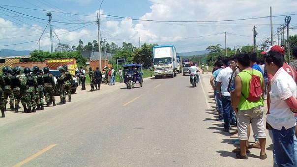 Huelga San Martín
