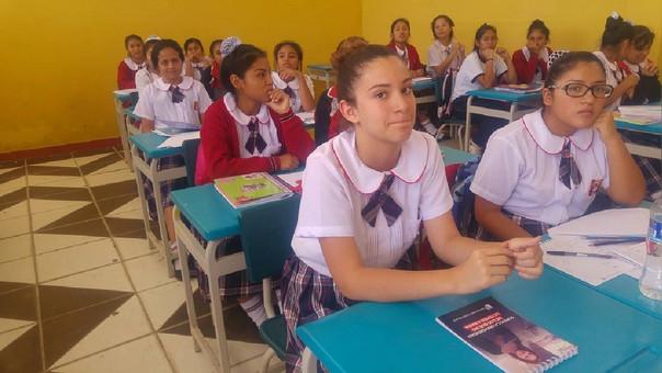 Alumnas fueron bien recibidas en las aulas