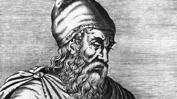 Arquímides pudo conocer el valor aproximado de pi con polígonos inscrítos a una circunferencia para afinar en el cálculo.