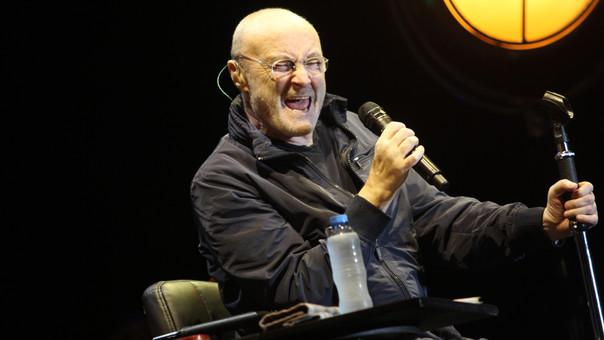 Al menos 10 mil personas acudieron al concierto de Phil Collins.