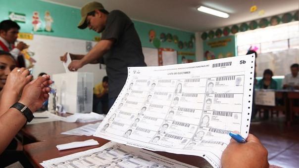 Padrón electoral en La Libertad