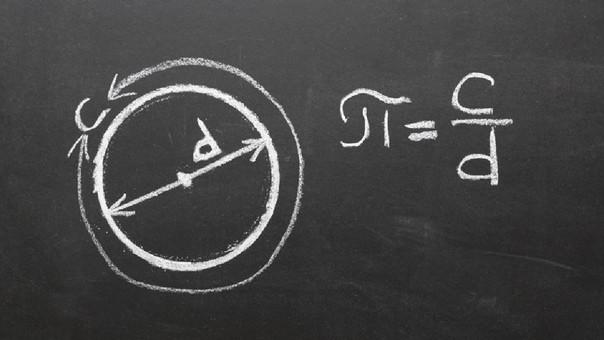 Así es como se calcula pi.