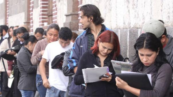 Desempleo afecta a uno de cada cinco jóvenes en Lima Metropolitana.