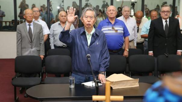 Inicia declaración de Alberto Fujimori por el caso Gorriti
