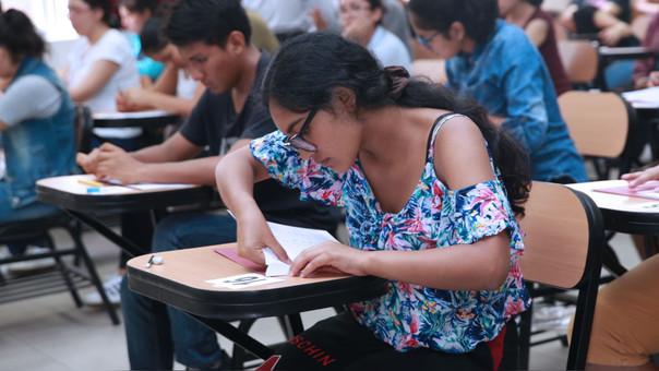Lista de ingresantes a la UNMSM luego del examen de admisión — Perú