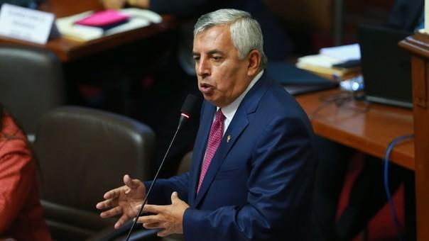 En el anterior debate por la vacancia, Elard Melgar votó a favor de la vacancia de Kuczynski.