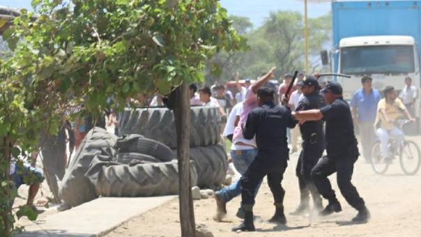 Dos detenidos en Olmos