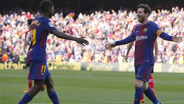 Barcelona sigue imbatible en casa y venció 2-0 a Athletic Bilbao por ... 1f4bb7db3f1f4
