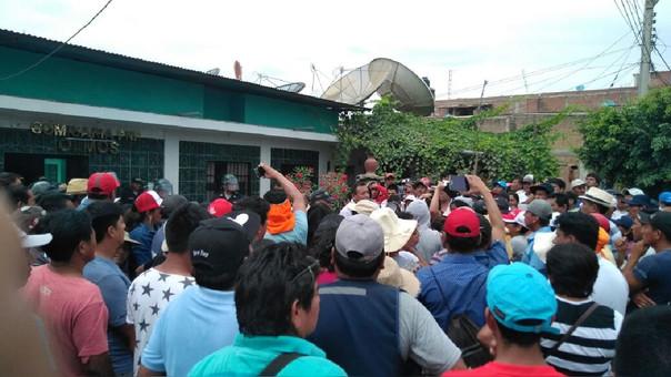 Población de Olmos en protesta contra nueva ciudad