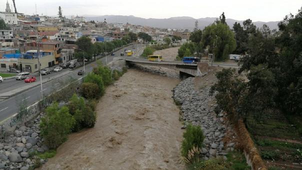 Se incrementa el aforo del río Chili