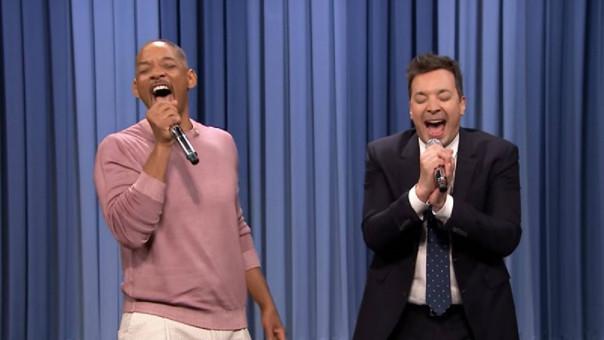 Jimmy Fallon y Will Smith