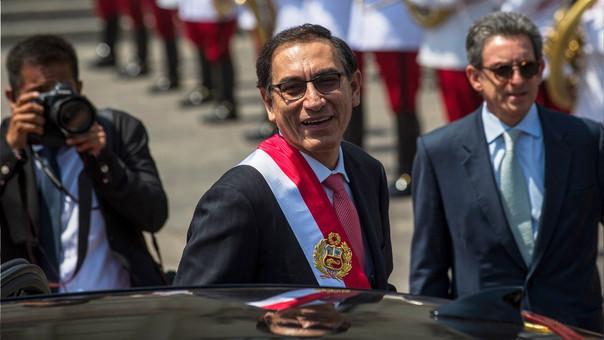 Martín Vizcarra asumió este viernes a la 1:00 p.m. la Presidencia de la República del Perú.