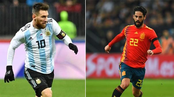 ¿Dónde quedó Argentina? España vence 6-1