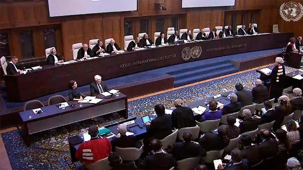 La vieja disputa marítima llegó a la Corte Internacional de Justicia de La Haya.