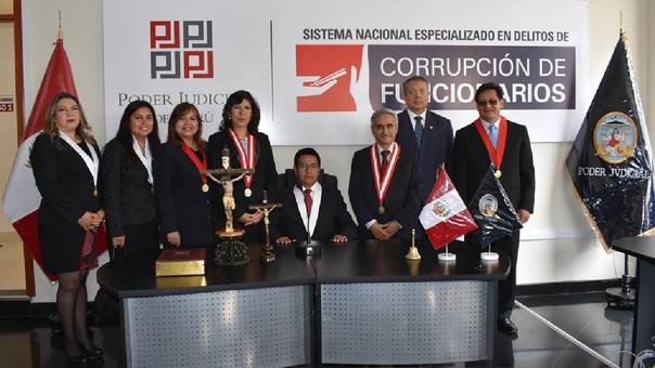 Duberlí Rodríguez encabezó en Cajamarca ceremonia de inauguración de Juzgados Especializados en Delitos de Corrupción