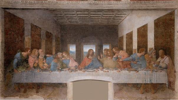 'La Última Cena' de Leonardo da Vinci.