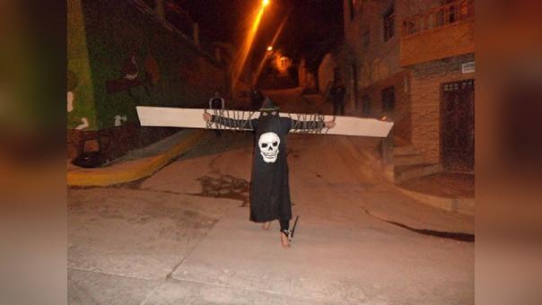 Los penitentes es una de las atracciones de la Semana Santa que se vive en la provincia de Contumazá